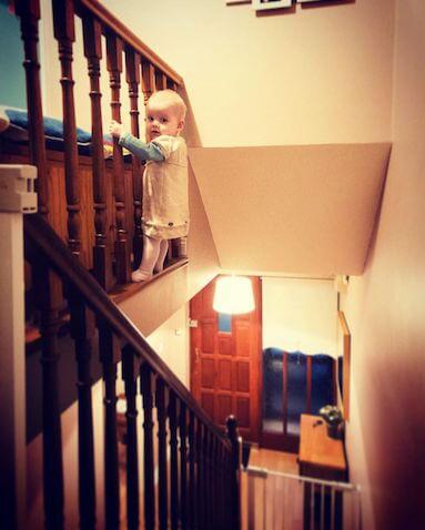 Fotos de Hannah editadas por su padre