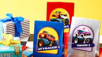 Bolsas de chuches de Blaze y los Monster Machines