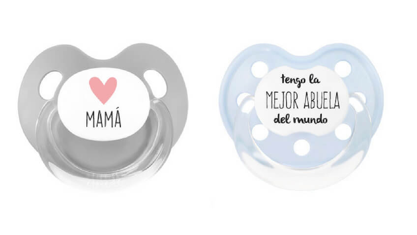 Chupete personalizado para el Día de la Madre