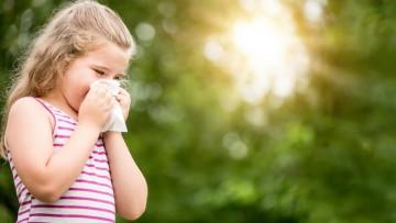 Cómo detectar alergias en niñ@s durante la primavera