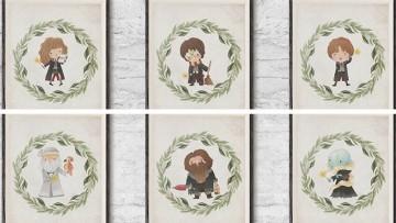 Láminas decorativas de Harry Potter para imprimir