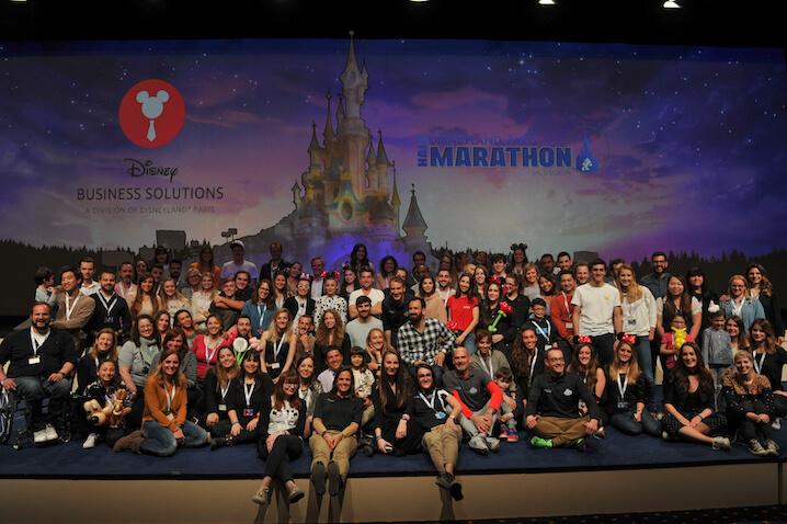 Presentación de la Media Maratón de Disneyland París 2017