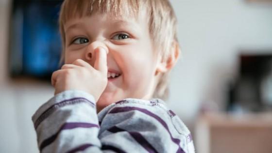 Los niñ@s que se comen los mocos son más sanos
