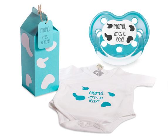 regalos originales para el dia de la madre kit con body bebé