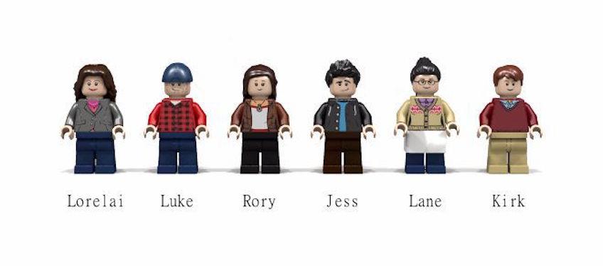 Minifiguras de Lego de las Gilmore Girls