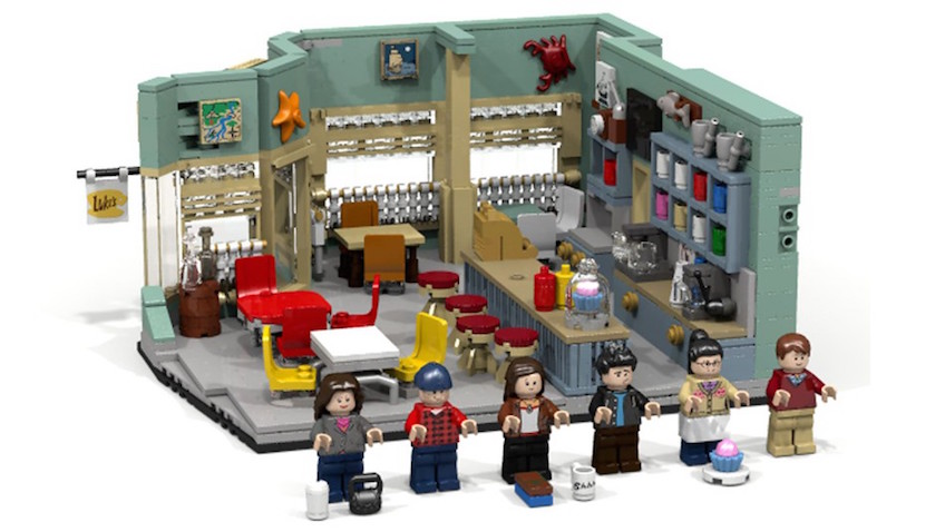 Set de Lego de las Gilmore Girls