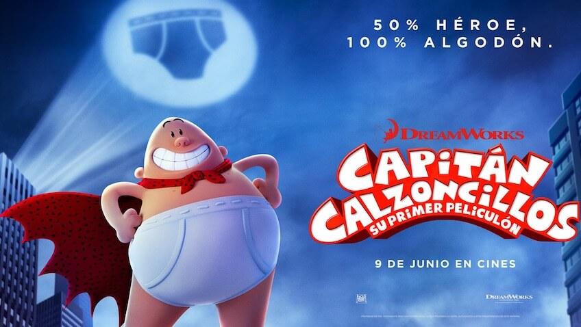 Capitán Calzoncillos: Su Primer Peliculón