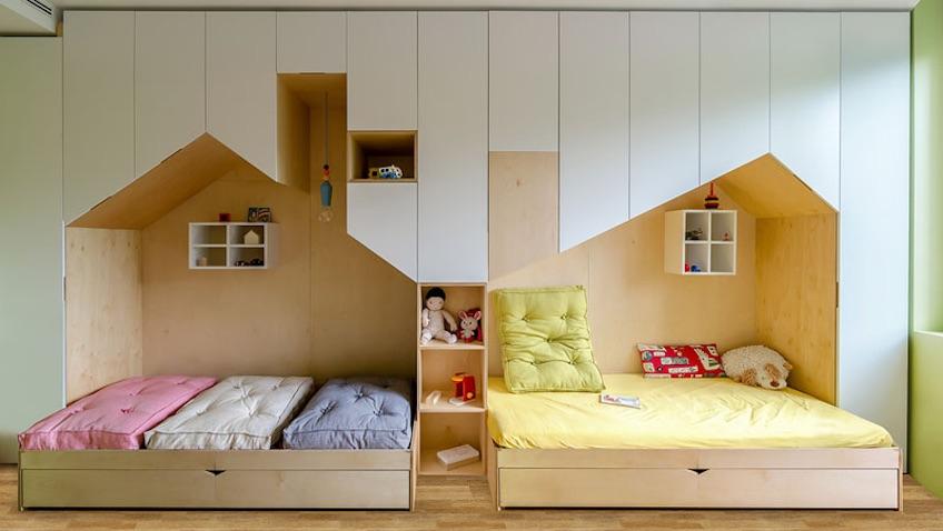 idea de cmo decorar una habitacin infantil para hermanos