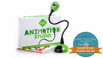 ¡Sorteo de un kit de HUE Estudio de Animación!