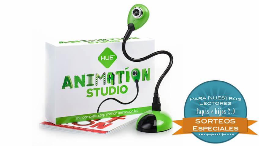 Sorteo de un kit de HUE Estudio de Animación
