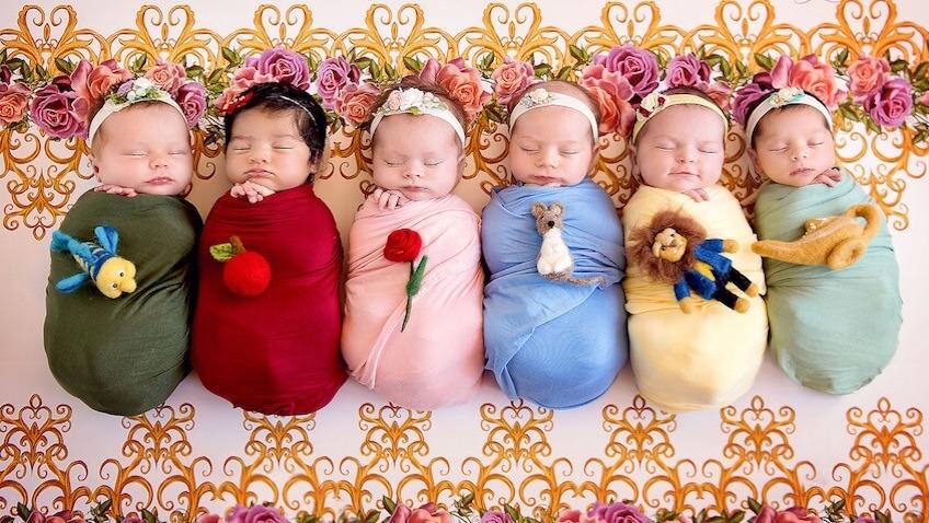 Fotos de bebés recién nacidos de película de Disney