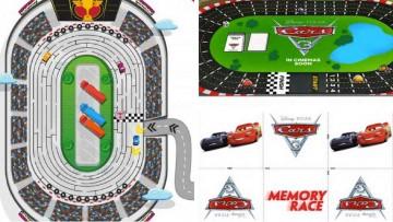Descarga tres juegos de Cars 3 para imprimir