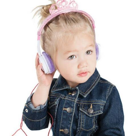 Auriculares para niñ@s Pink Tiara de IFROGZ