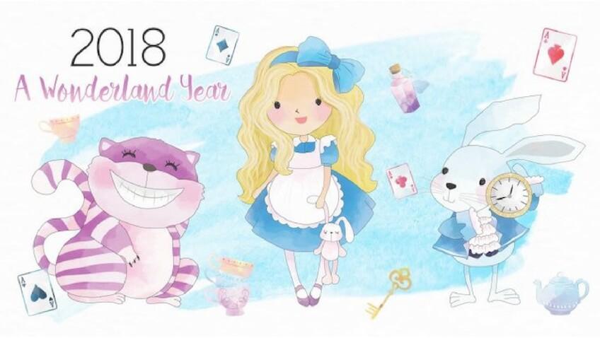 Calendario infantil para imprimir gratis del 2018
