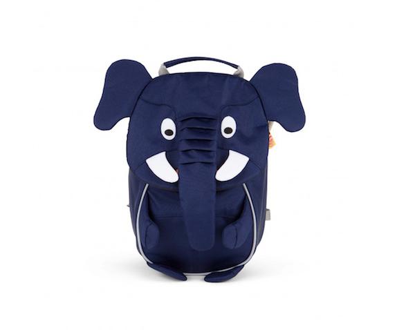 Mochila guardería para elefante azul
