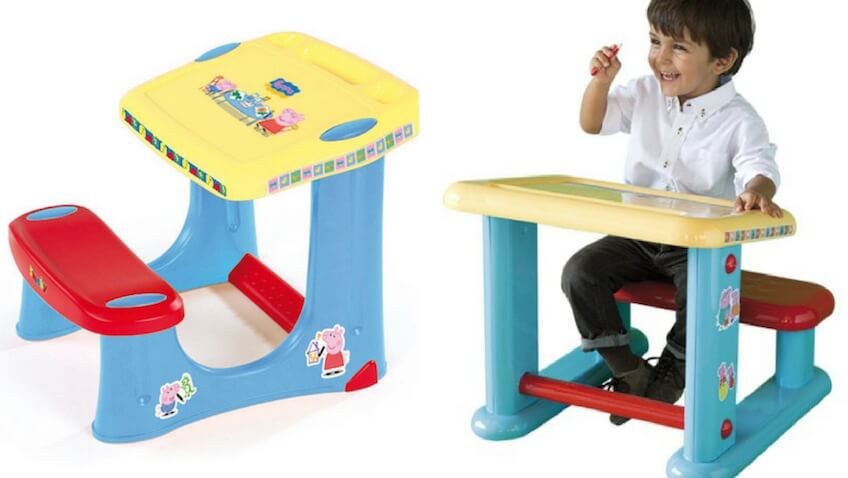 Pupitres infantiles y mesas con los personajes preferidos - Pupitre infantil carrefour ...