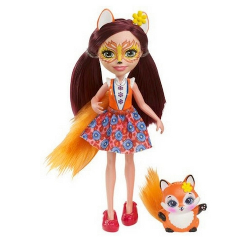Felicity Fox y Flick Enchantimals de Mattel