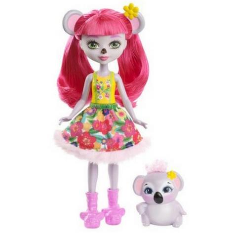 Karina Koala y Dab muñeca Enchantimals de Mattel