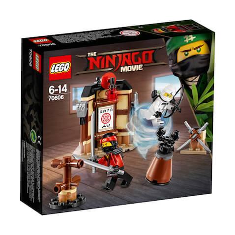 Premios sorteo set Lego Ninjago Área Entrenamiento Spinjitzu