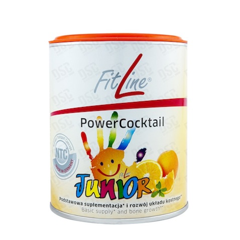 PowerCocktail Junior con vitaminas y calcio