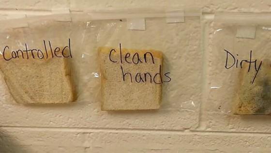 Consigue crear el hábito de lavar las manos con este experimento casero