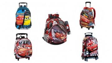 5 mochilas con ruedas de Cars 3 rebajadas para la Vuelta al Cole