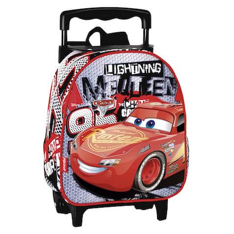 Mochila Cars 3 pequeña para guardería rebajada