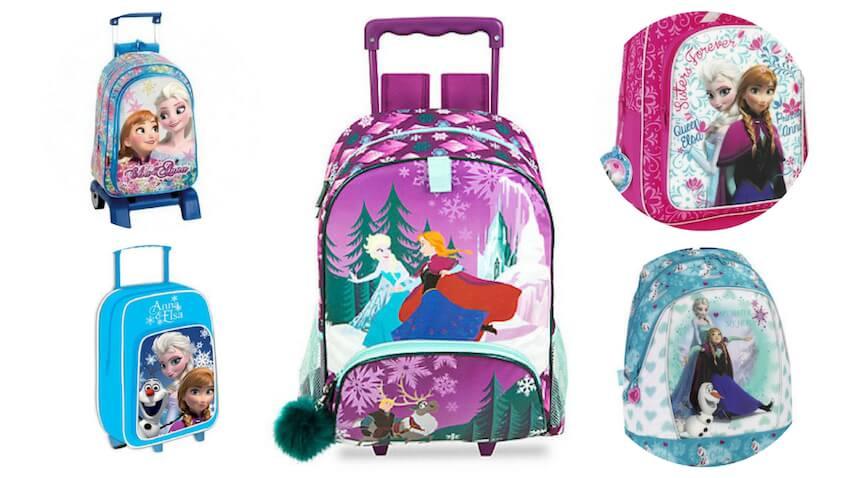 5 mochilas con ruedas de Disney Frozen rebajadas para la Vuelta al Cole 2017/18