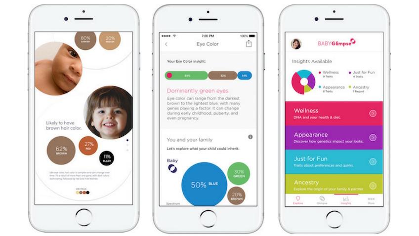 Como sera mi bebe app para iphone BabyGlimpse
