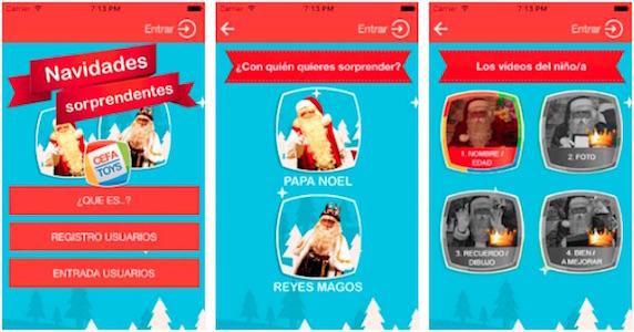 App Navidades Sorprendentes 2017 versión gratis y premium