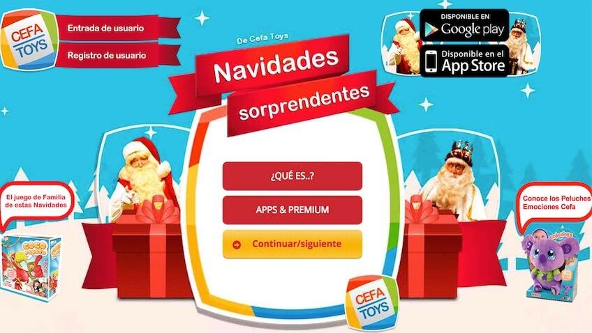 app de Navidades Sorprendentes descargar