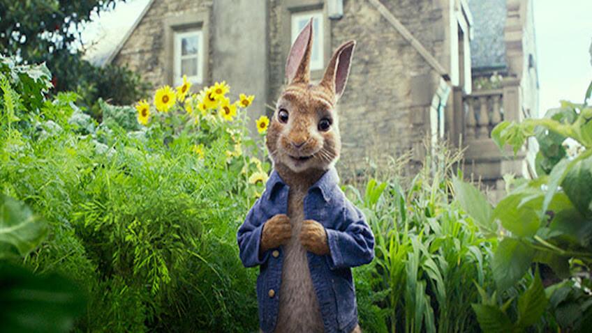 estreno de petter rabbit película 2018