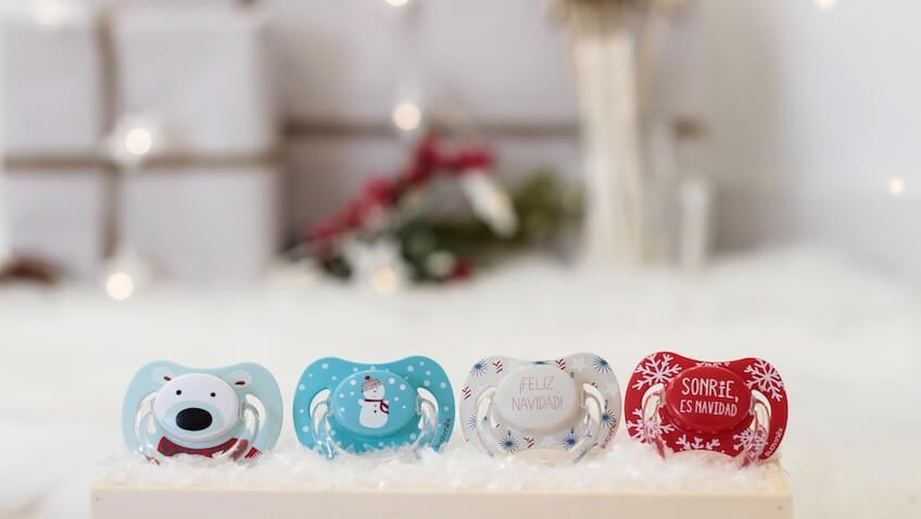 Chupetes para bebés de Navidad de Suavinex