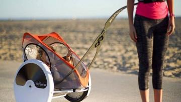 Kidrunner un carrito para correr tu bebé con un innovador diseño