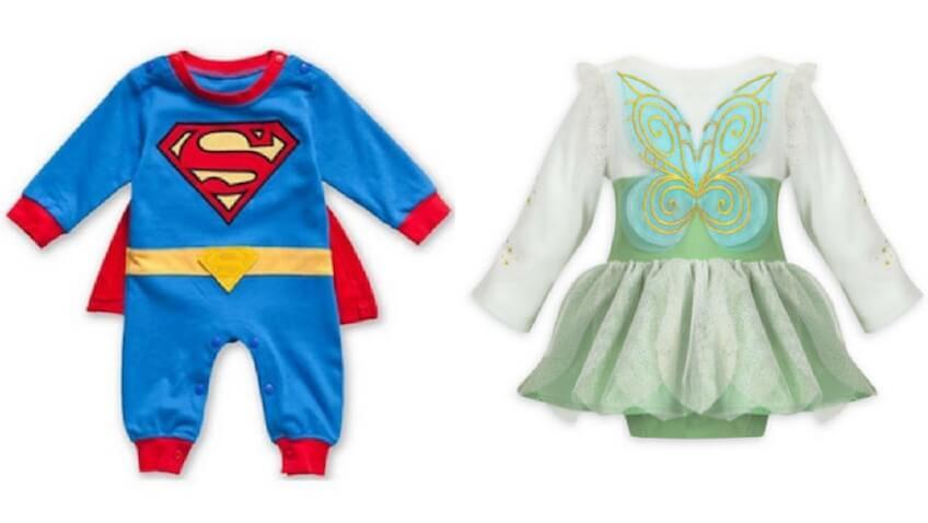 disfraces para bebés de personajes de película desde 0 hasta 24 meses