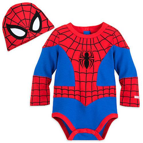 Disfraz de Spiderman para bebés desde 0 hasta 18 meses