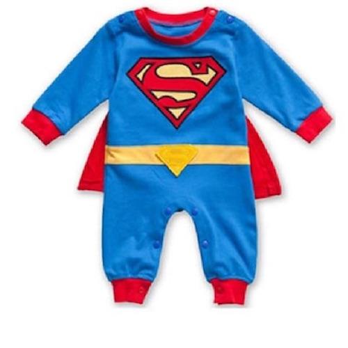 disfraz para bebé superman de 3 meses hasta 18 meses