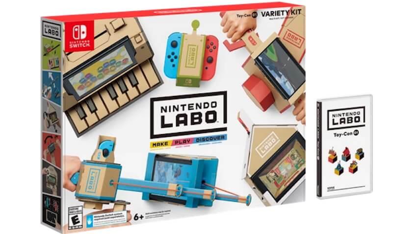 Nintendo Labo kits para Switch