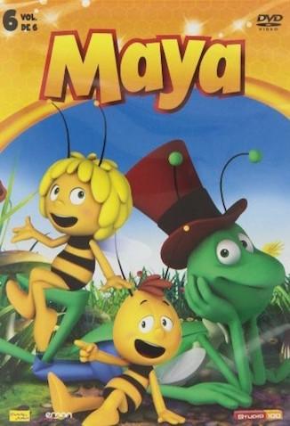 DVD de la seria de La Abeja Maya 6
