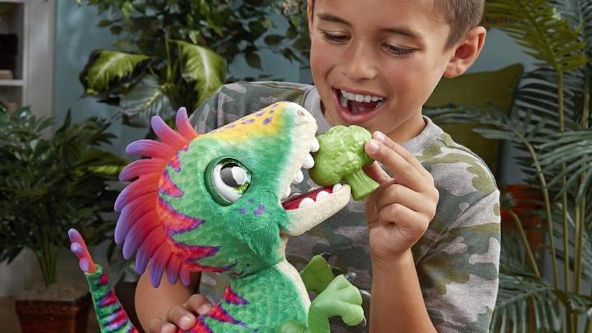 Nuevo Dinosaurio Rex de FurReal de Hasbro
