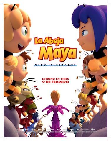 """La Abeja Maya, los juegos de la miel"" estreno de la cartelera infantil del 9 de febrero de 2018"
