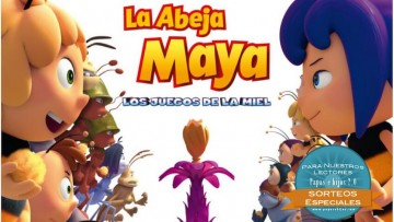 """Sorteamos 3 packs de la película """"La Abeja Maya, los juegos de la miel"""""""