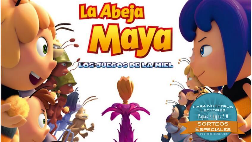 La película de la Abeja Maya los juegos de la miel estreno en cines el 9 de febrero
