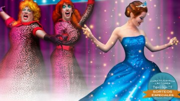 Sorteo de entradas para Cenicienta, el gran show musical