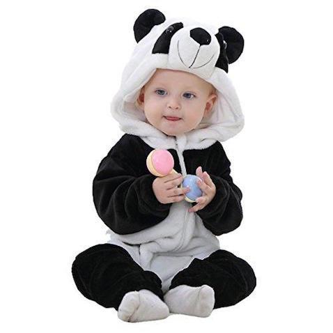 Disfraz de oso para bebés desde 2 meses hasta 2 años