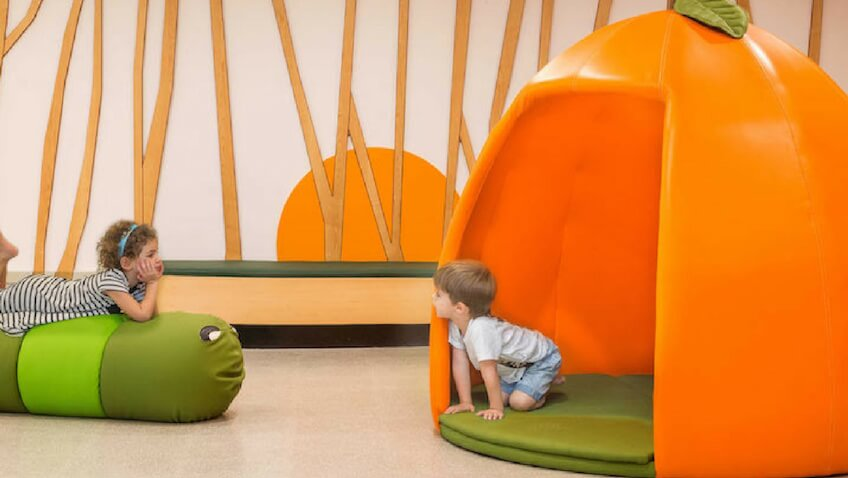 guardería infantil con diseño original e innovador