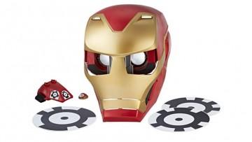 Convierte a tu peque en Iron Man con esta máscara con Realidad Aumentada