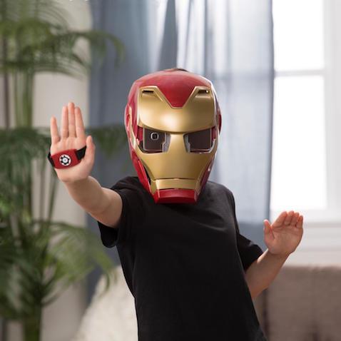 Casco de realidad aumentada de Avengers Infinity War Hero Vision Iron Man