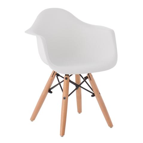 muebles infantiles nórdicos silla para niños con brazos