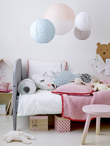 Iluminación apropiada para la habitación del bebé